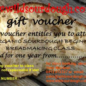 Wild Sourdough Gift Vouchers